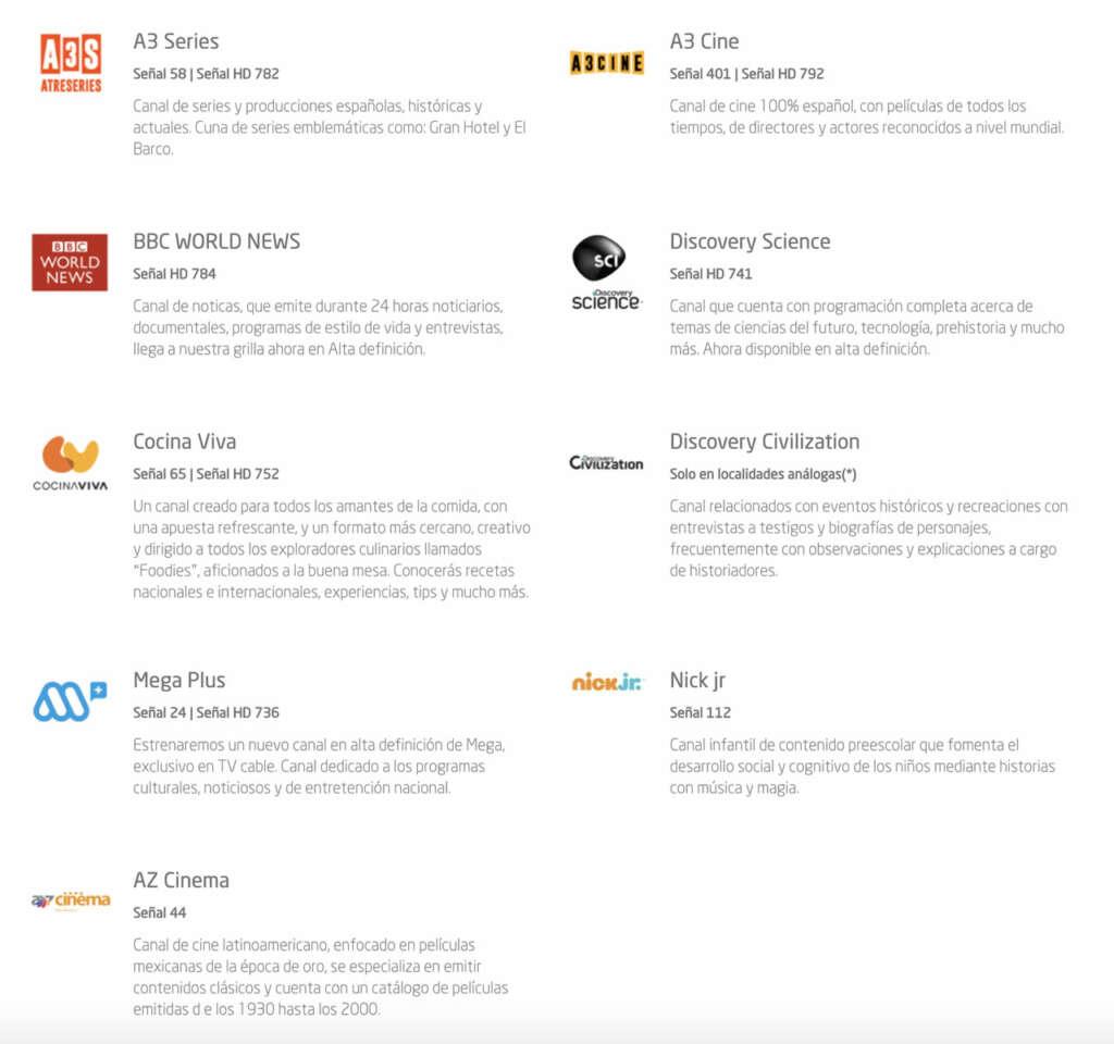 ¿Por qué VTR sacó Film&Arts, AMC y otros canales de su parrilla?