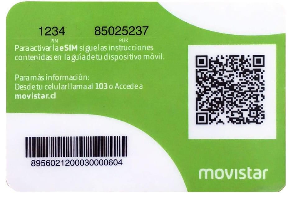 Movistar comienza a vender eSIM en Chile a fines de marzo.
