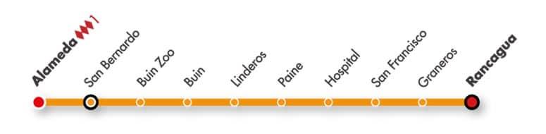 Ahora las estaciones de MetroTren Rancagua tienen Wi-Fi gratuito.