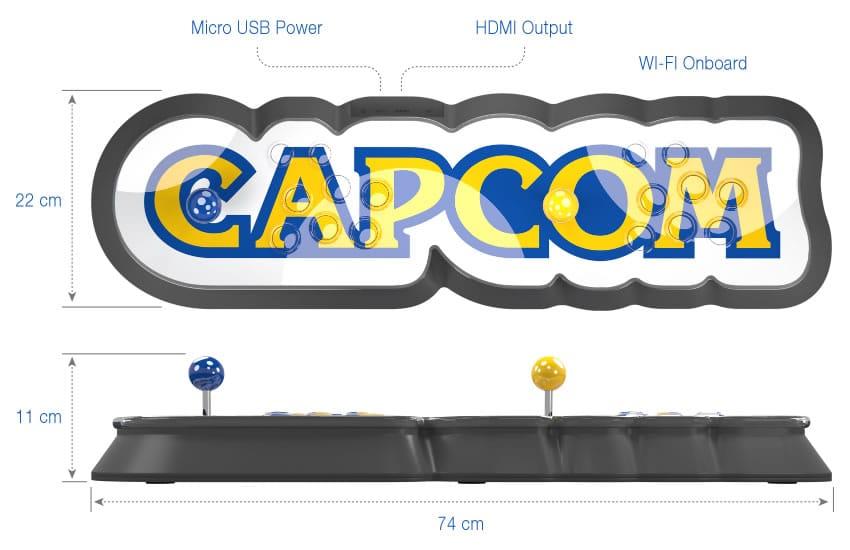 """Home Arcade: la """"consola"""" de Capcom con forma de joystick."""