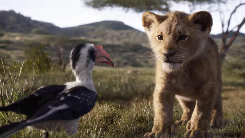 """El primer tráiler de """"El Rey León"""" es como un documental de Nat Geo."""