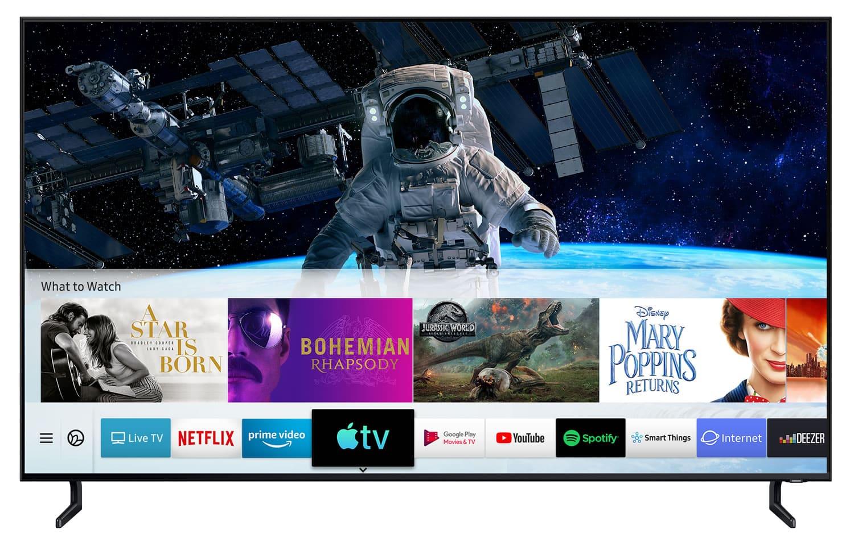 TV Samsung del 2018 y 2019 (no todos) ya pueden usar AirPlay 2 de Apple.