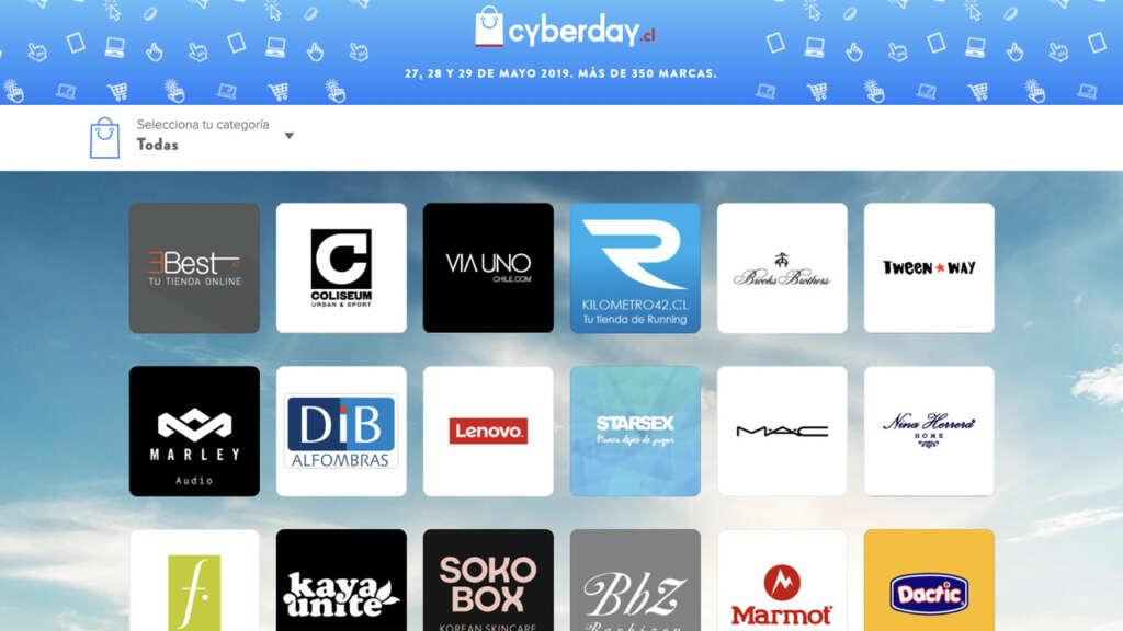 Más de 350 marcas participan de este CyberDay 2019.