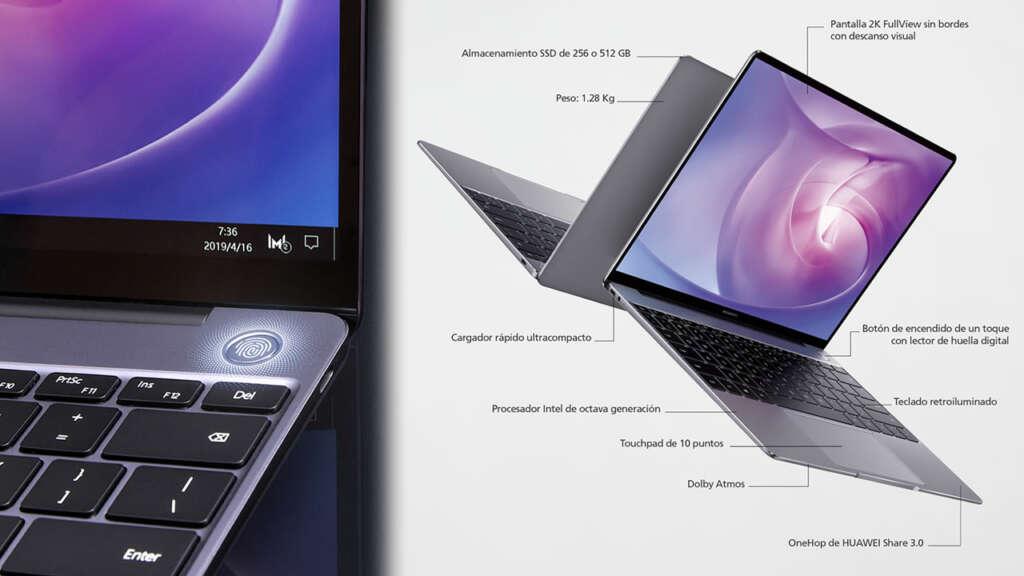 Huawei inicia la venta de su portátil MateBook 13 en Chile.