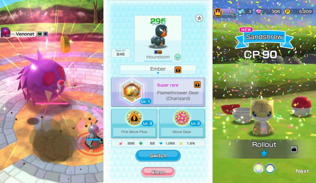 Pokémon Rumble Rush: un nuevo juego de la franquicia para móviles.