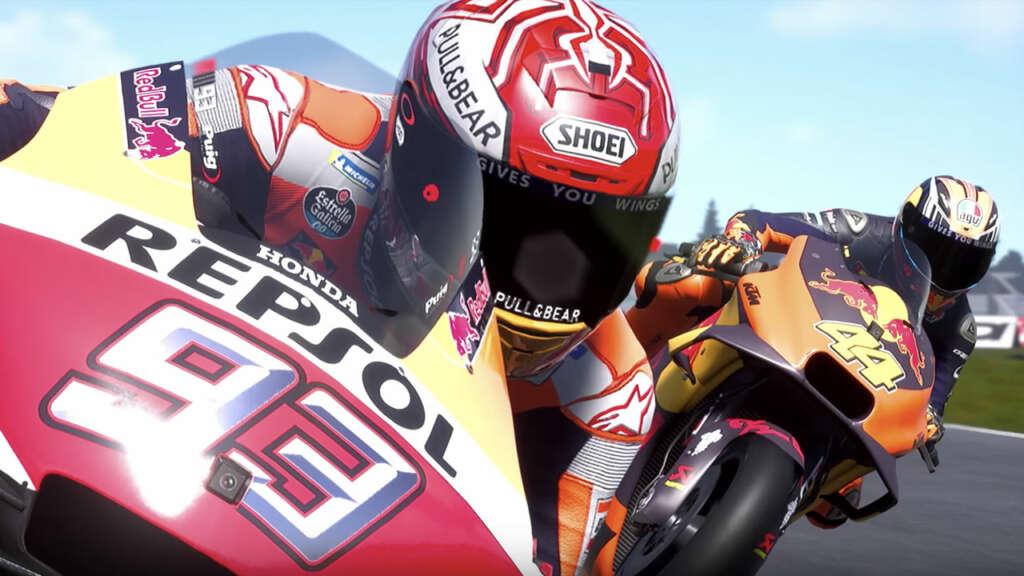 La inteligencia artificial de MotoGP 19 mejora el comportamiento de los oponentes.