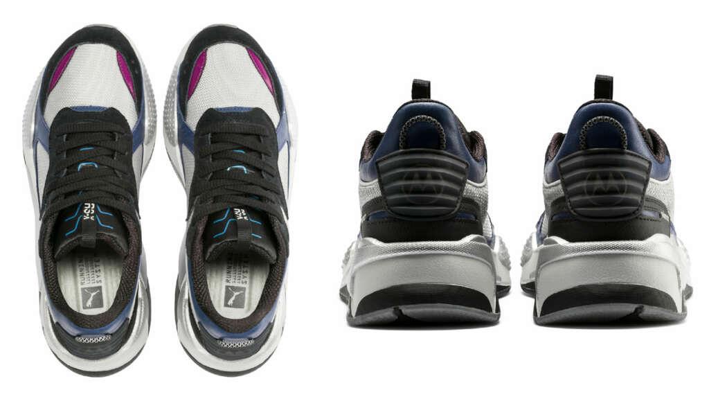 Puma lanza zapatillas inspiradas en viejos celulares Motorola.