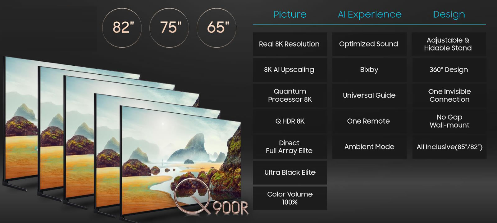 Samsung venderá sus nuevos televisores 8K y 4K en Chile durante este mes.