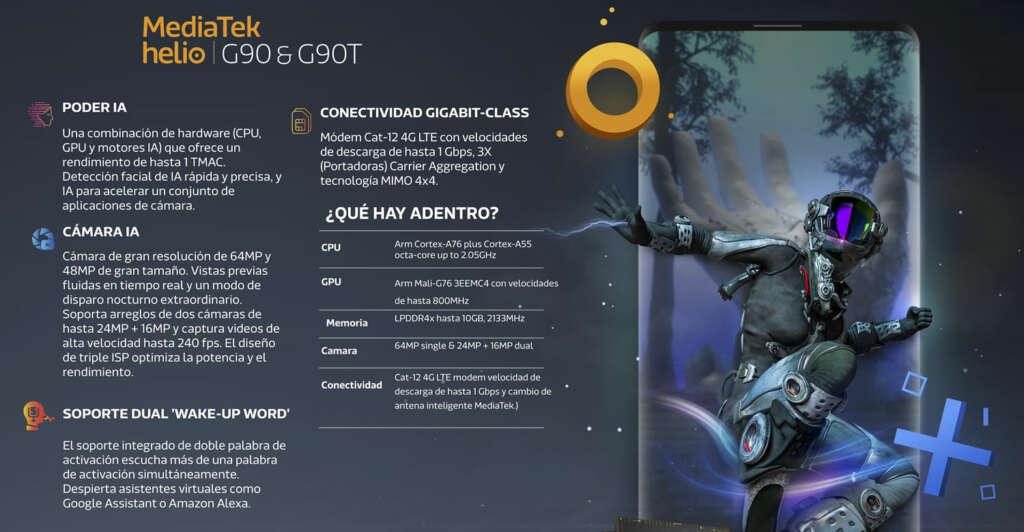 Helio G90: el nuevo CPU de MediaTek pensando para los gamers de celular.