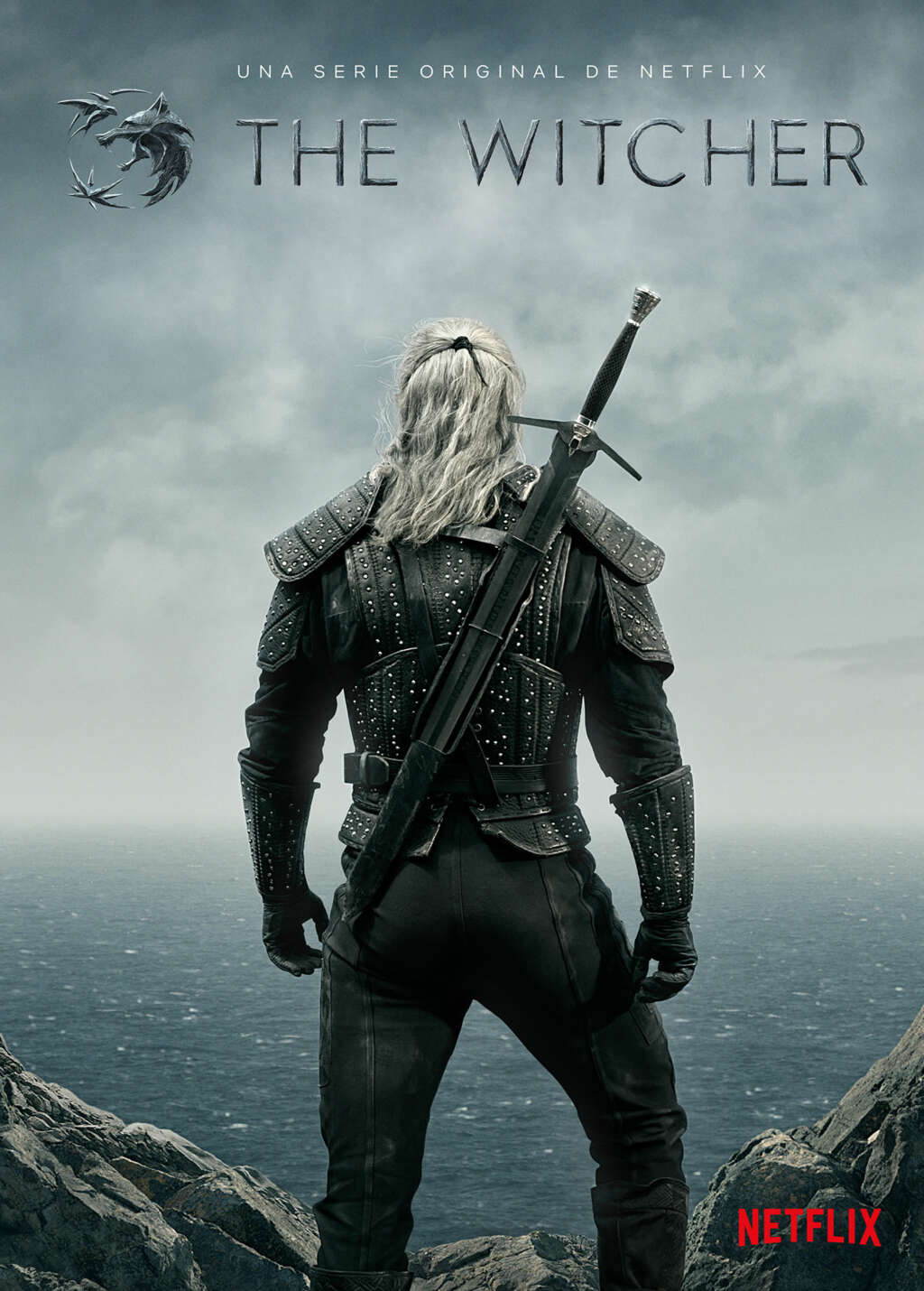 "Póster oficial de ""The Witcher""."