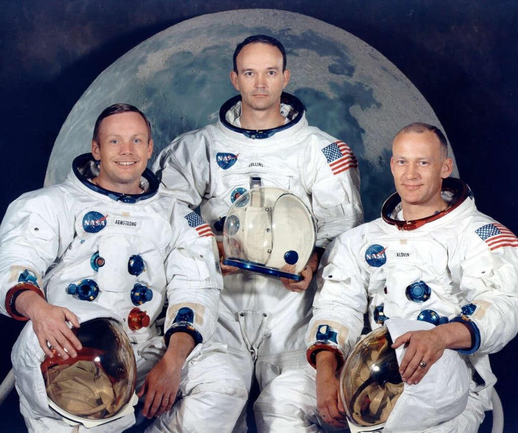 50 años de la llegada a la Luna: publican simulación del alunizaje en los ojos de Armstrong.