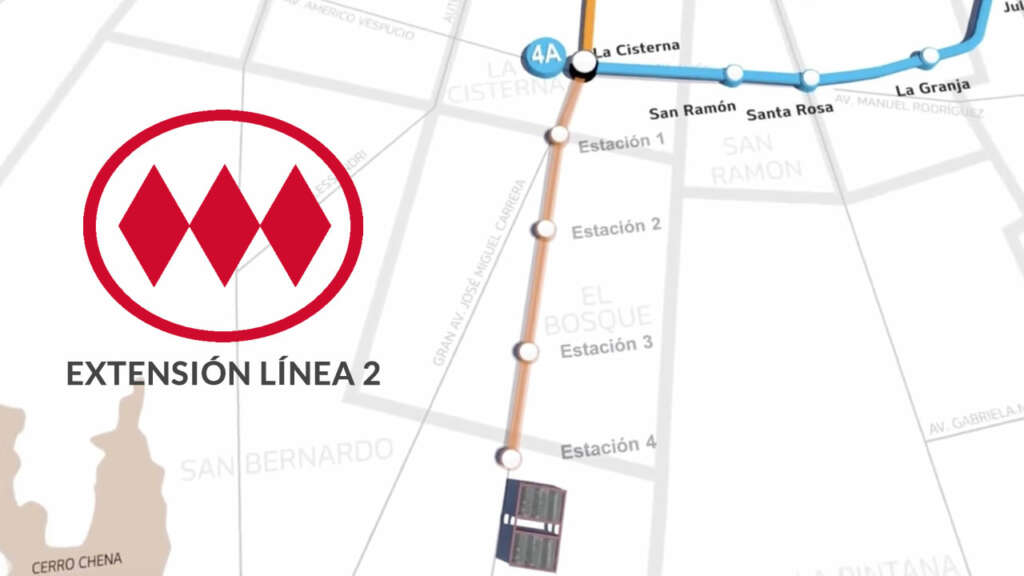 Todo lo que debes saber sobre la extensión de la Línea 2 del Metro.