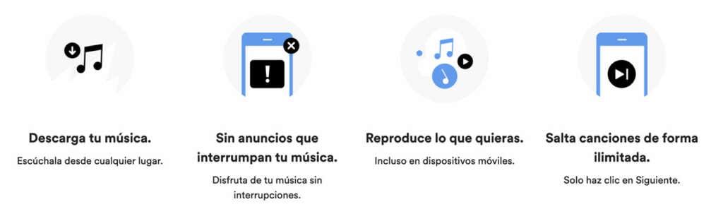 ¿Spotify desesperado? Aumenta el período de prueba de 30 a 90 días.