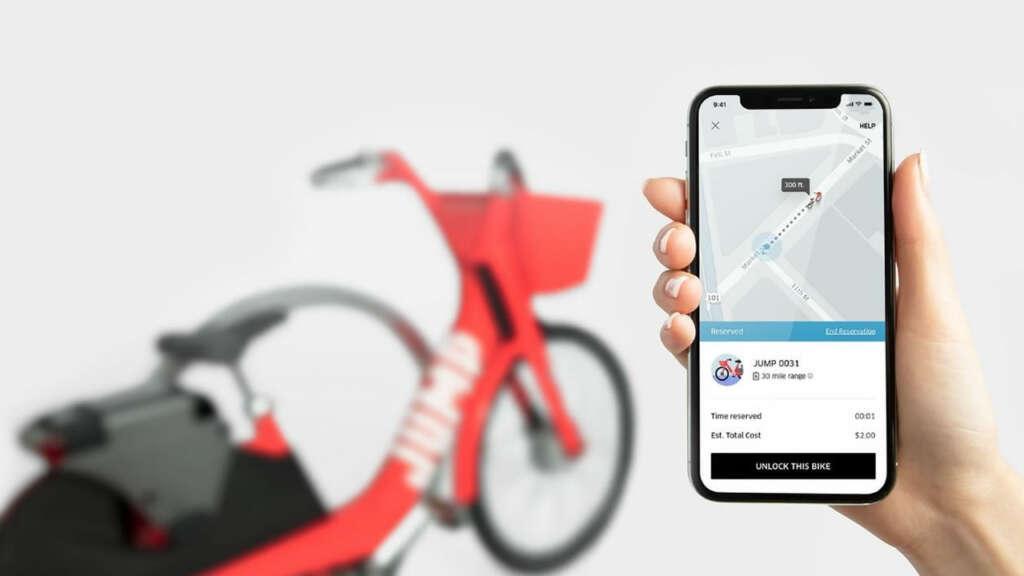 Jump, las bicicletas de Uber, están próximas a llegar a Chile.