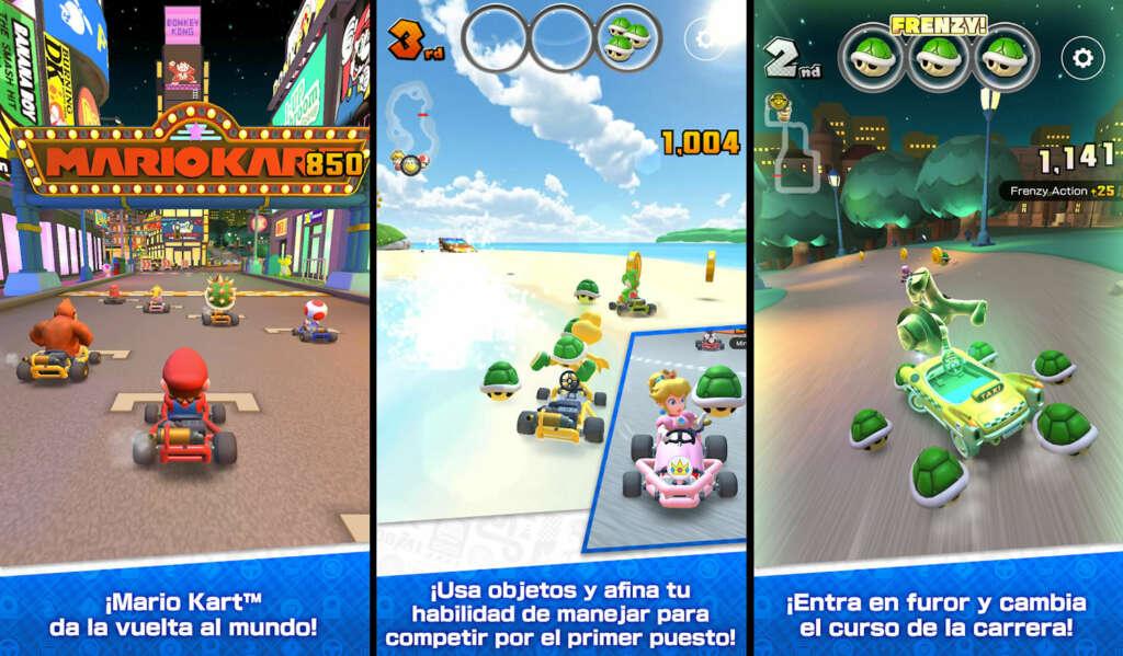 """Confirman fecha en la que """"Mario Kart Tour"""" saldrá para iOS y Android."""