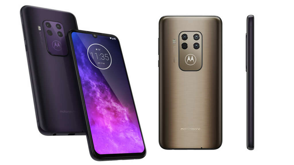 """Este es """"One Zoom"""", el primer celular con cuatro cámaras de Motorola."""
