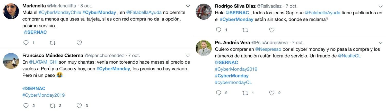 Cybermonday en Twitter: 58% de las menciones son negativas.