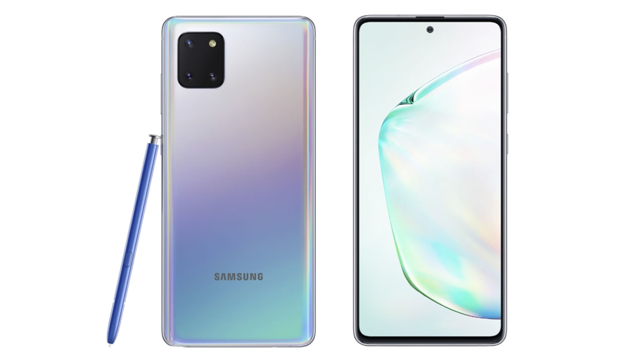 Galaxy Note 10 Lite.