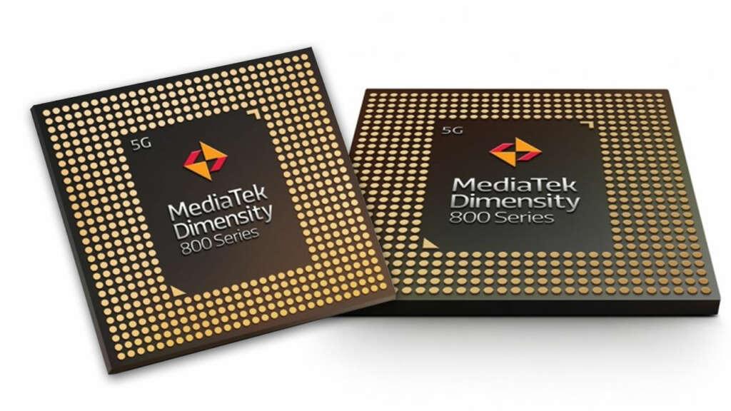 MediaTek actualiza sus chipsets Dimensity 800 para celulares gama media con 5G.