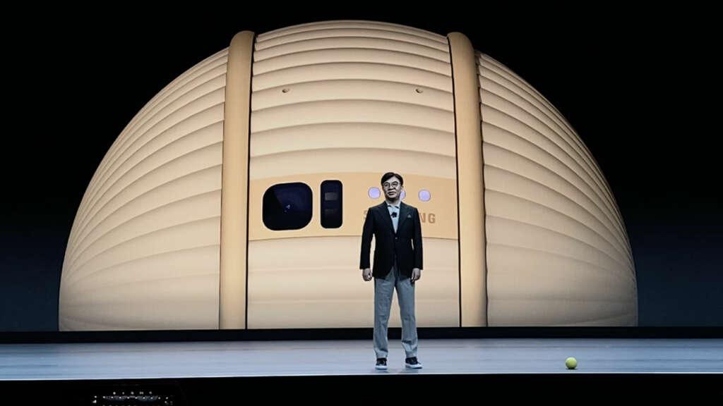 Samsung Ballie: el robot pelota que pretende acompañarte en tu día a día.