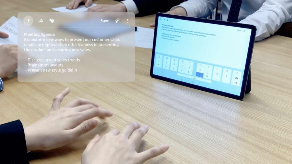 SelfieType: un teclado virtual para tu celular que usa la cámara frontal para funcionar.