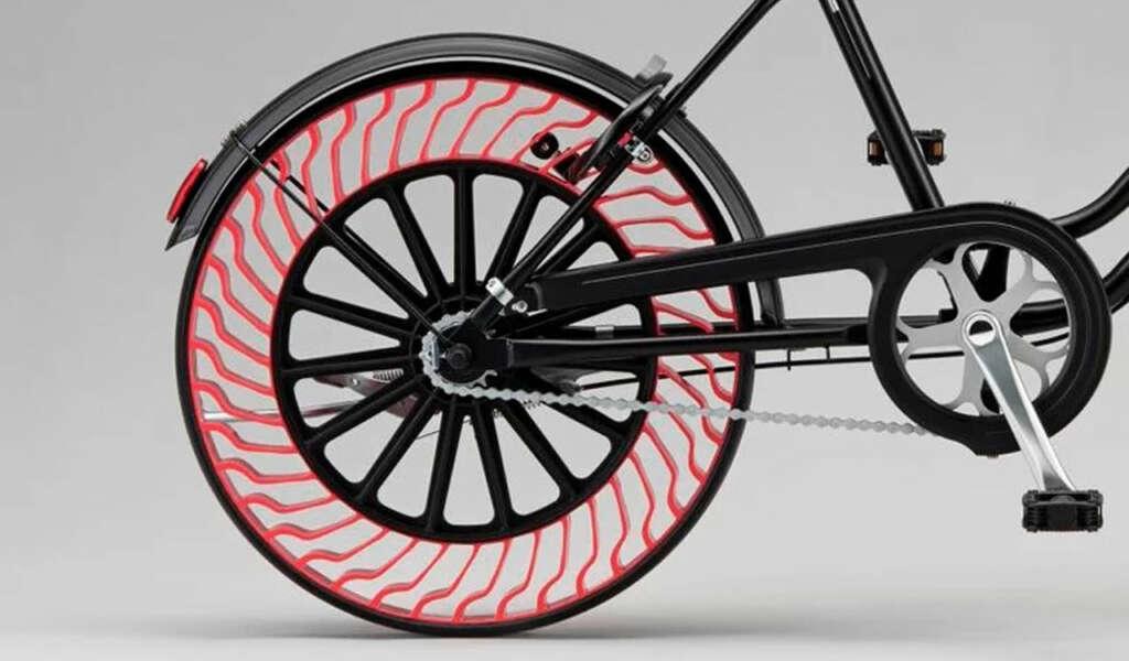Este año comenzarán a venderse las primeras ruedas sin aire.