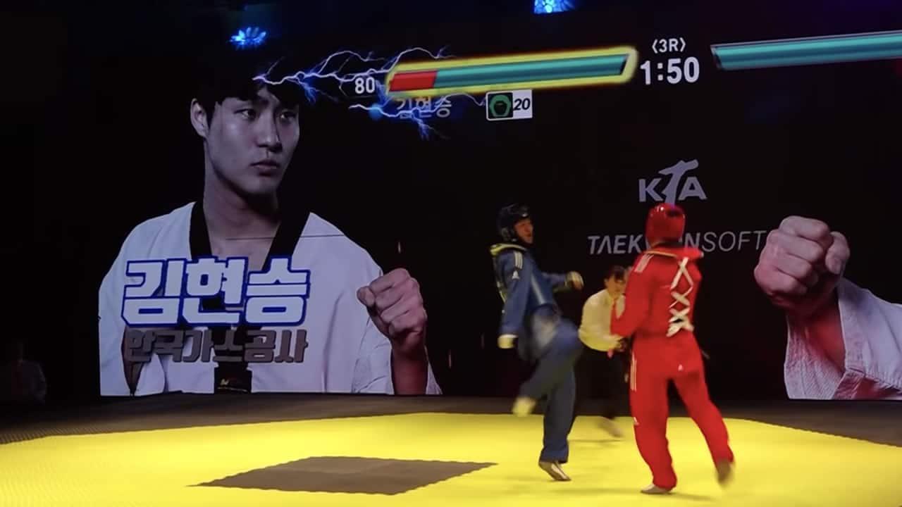 El Taekwondo ahora tiene barras de poder como en un videojuego de peleas.