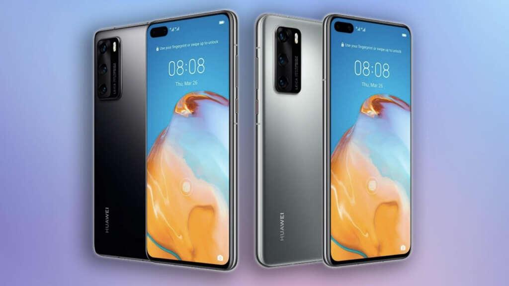 Una de las imágenes filtradas del Huawei P40 Pro.