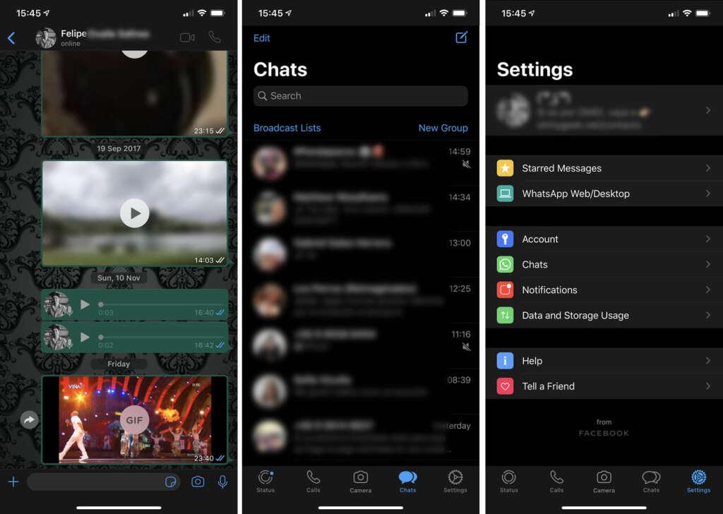 ¿Cómo usar el modo oscuro en WhatsApp (iOS y Android)?