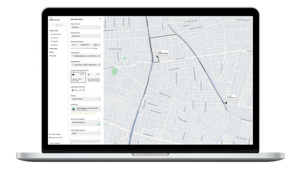 Uber Shopping ya está disponible en Chile para el reparto de productos.
