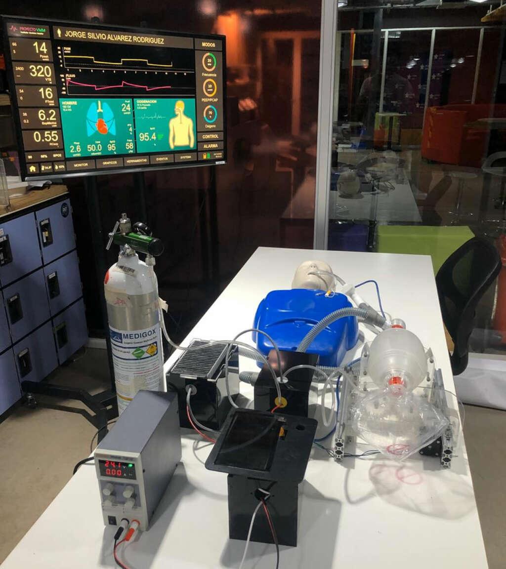 Dos universidades chilenas trabajan en fabricar un ventilador mecánico modular.