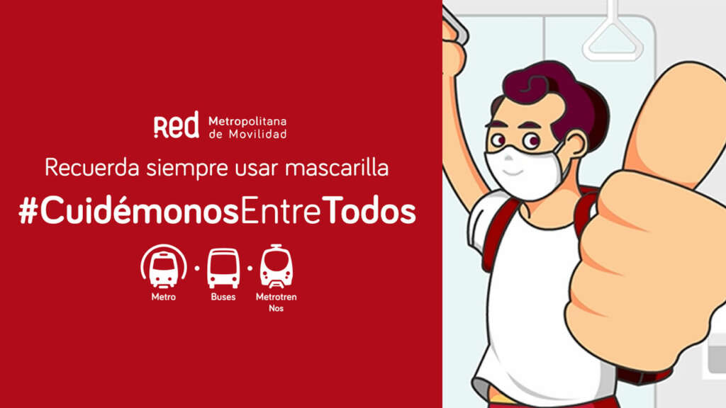 El uso de mascarilla es obligatorio en todo el transporte público.
