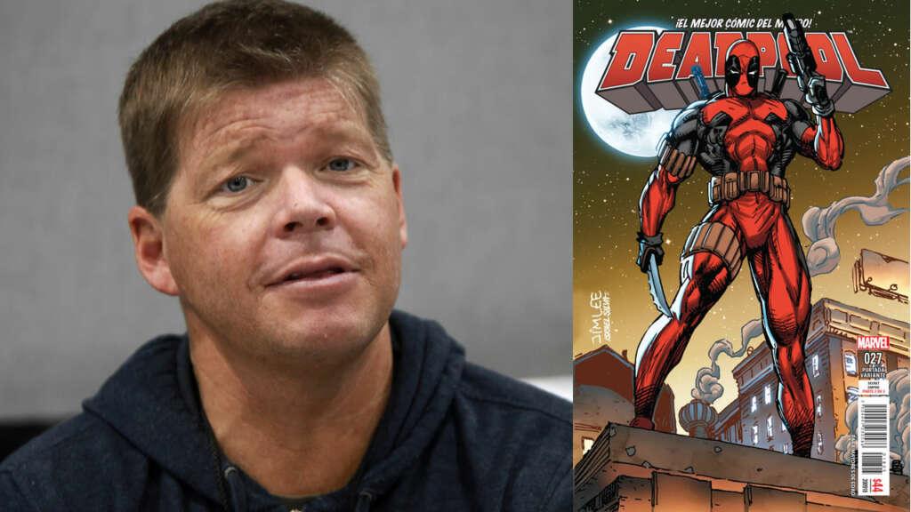 Rob Liefeld (en la foto) creó a Deadpool junto a Fabian Nicieza.