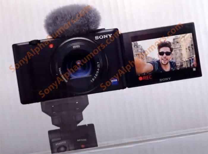 Sigue por streaming el lanzamiento de la nueva cámara de Sony ZV1.