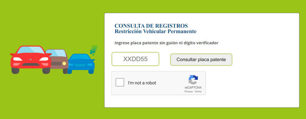 Crean buscador oficial y en línea de restricción vehicular por patente.