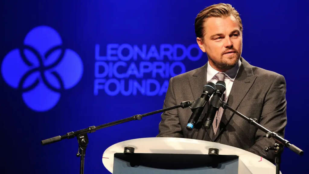 Leonardo DiCaprio Foundation.
