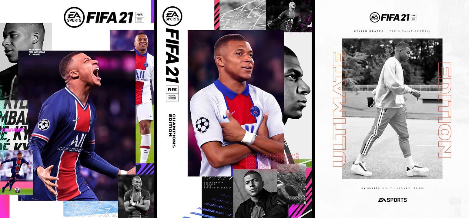 Mbappé es el rostro estrella escogido para FIFA 21.