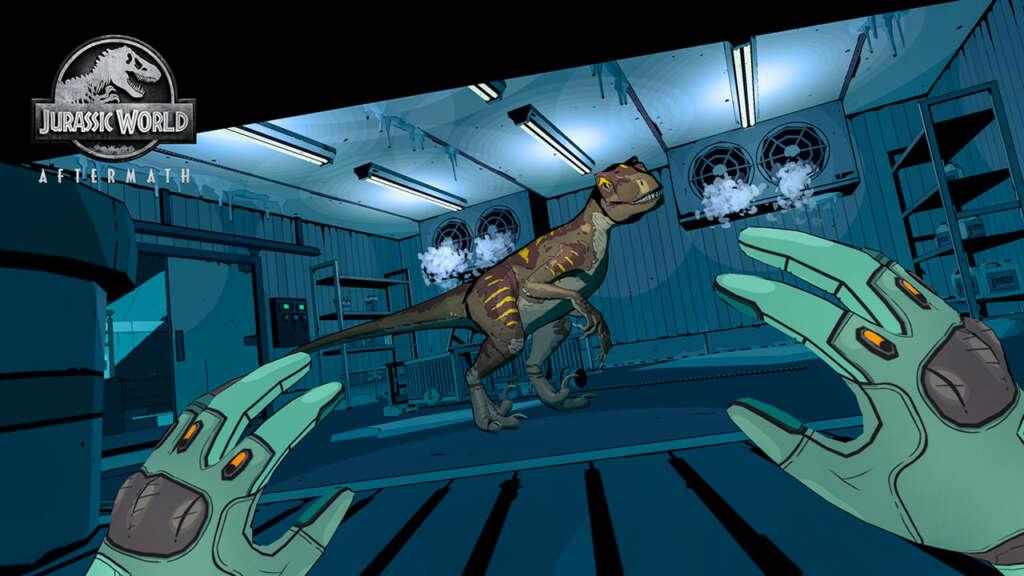Universal desarrolló con Oculus un juego VR de Jurassic World.