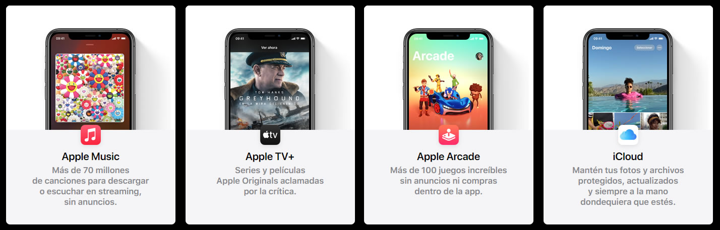 Apple One ya está disponible en Chile.