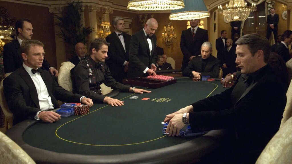 Rememora dos películas clásicas de casinos: Casino Royale.