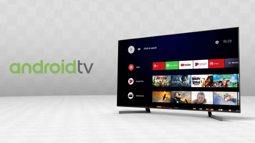 Televisores Sony Android TV.