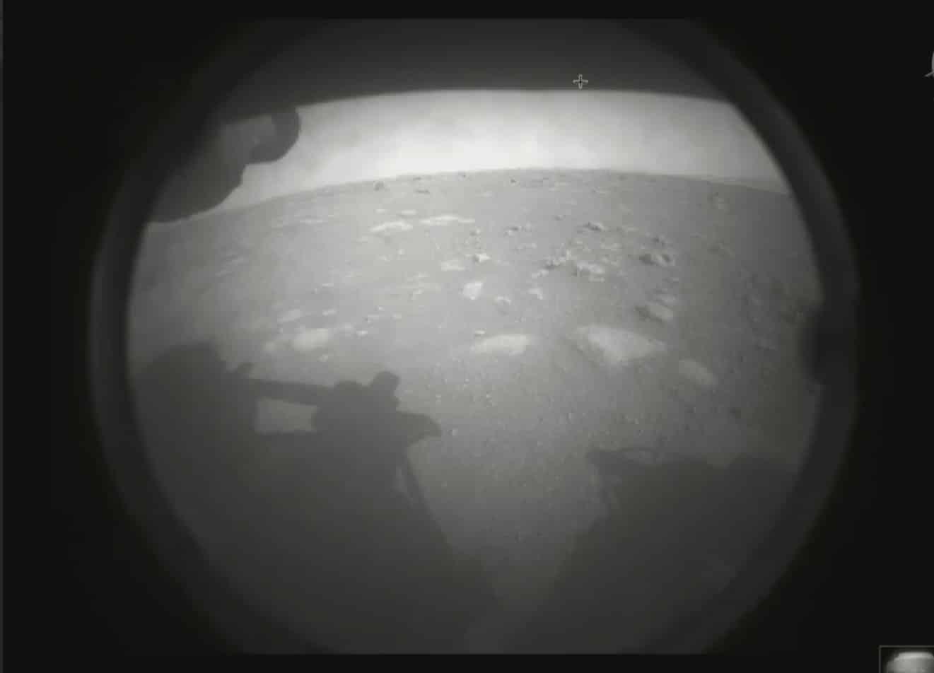 Foto del Perseverance desde Marte.