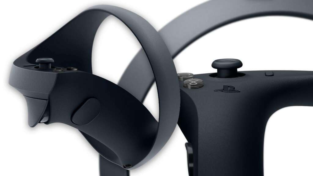 Controles de realidad virtual de PlayStation 5.