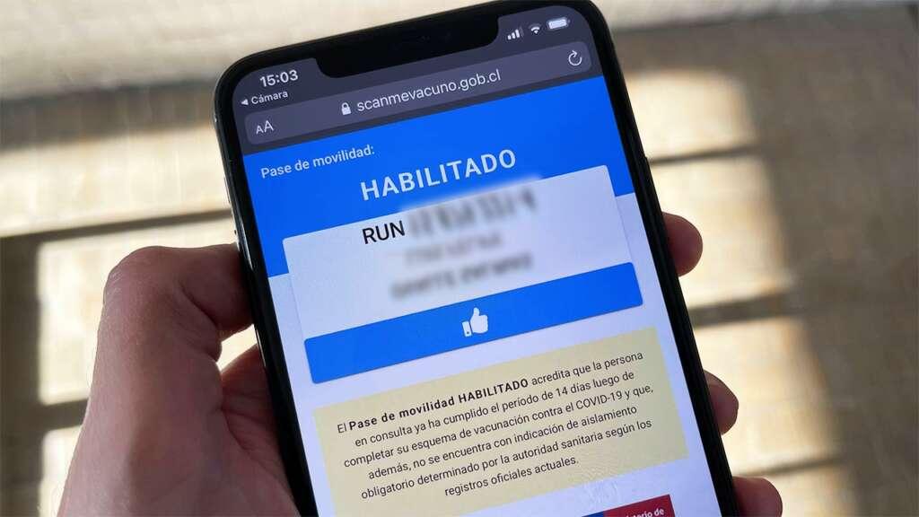 Pase de Movilidad en Chile.