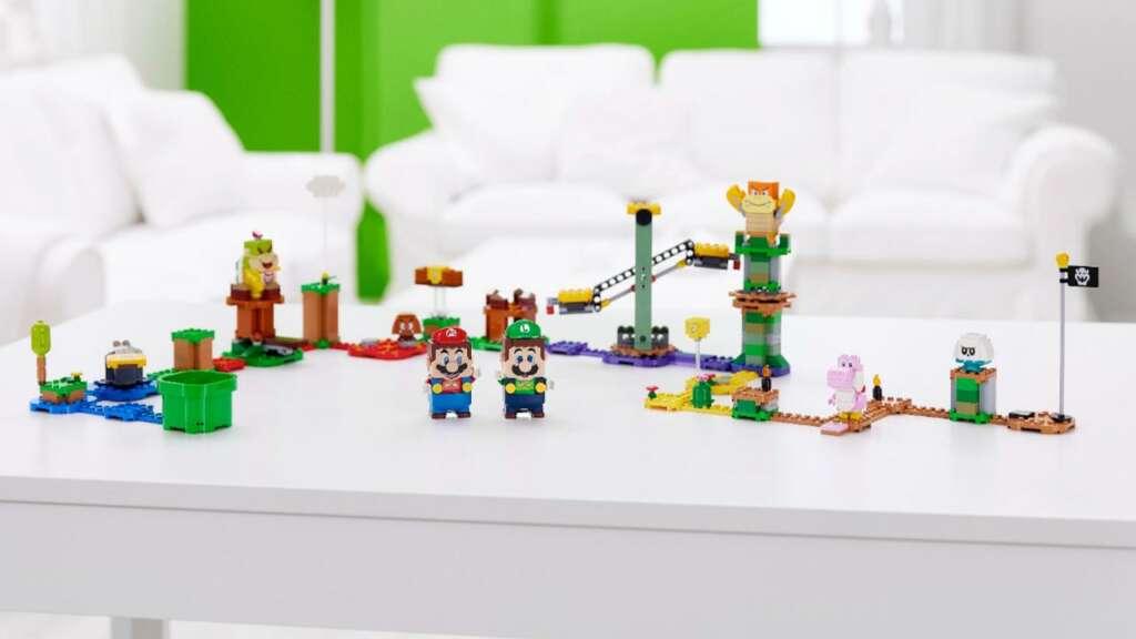 LEGO Super Mario ahora tiene un modo de 2 jugadores gracias a LEGO Luigi.