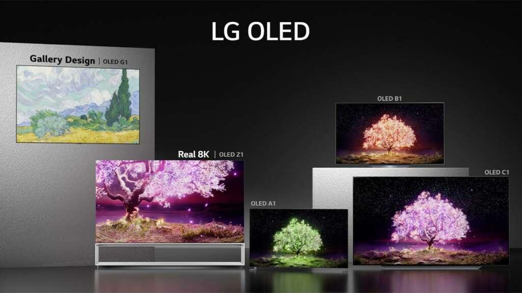LG OLED evo.