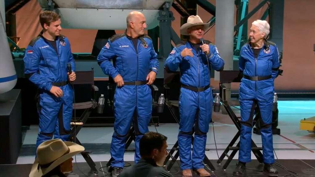 Esta es la experiencia en video de gravedad cero en el espacio con Blue Origin