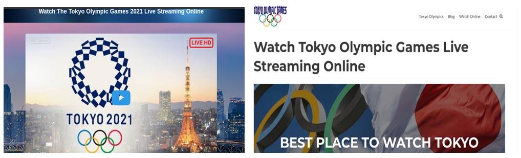 Falso streaming Juegos Olímpicos